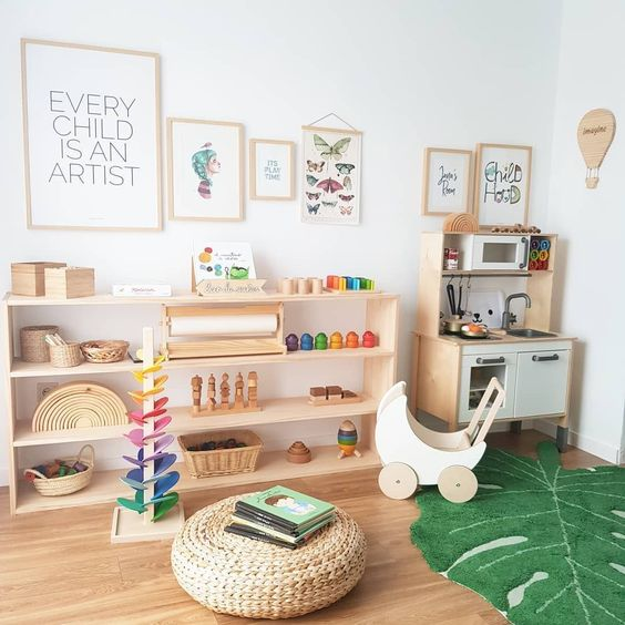 28 coolest playroom decor ideas green wood decor momooze.com online magazine for moms