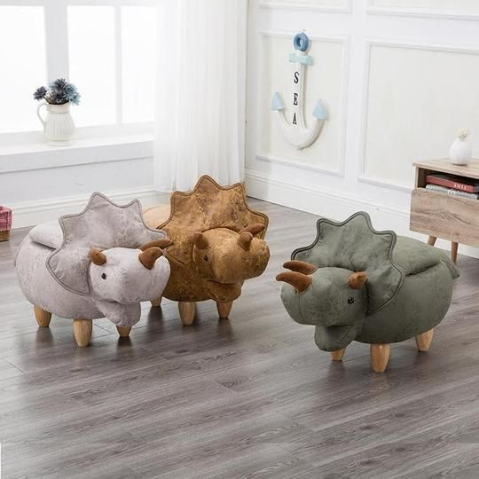 28 coolest playroom decor ideas triceratops stool momooze.com online magazine for moms