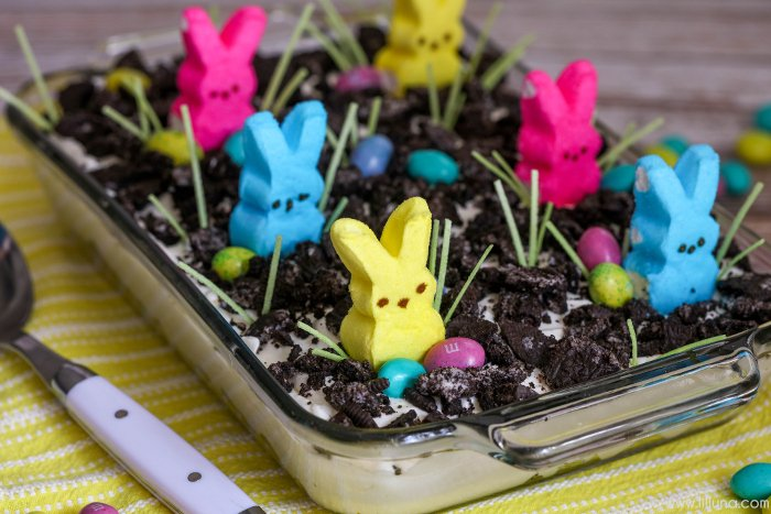 Dirt Cake Recipe Jello: 30+ Adorable Easter Crafts To Make With Your Kids