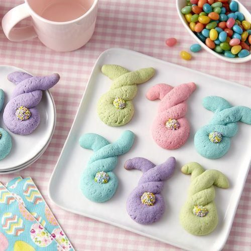 30+ Creative DIY Easter Crafts for Kids twisted bunny cookies momooze.com online magazine for moms
