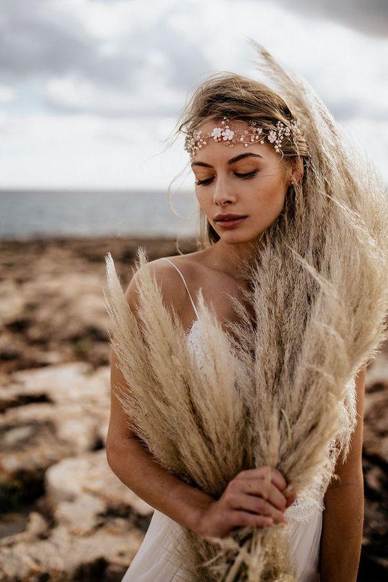 30+ Gorgeous Styles For Boho Wedding Hair