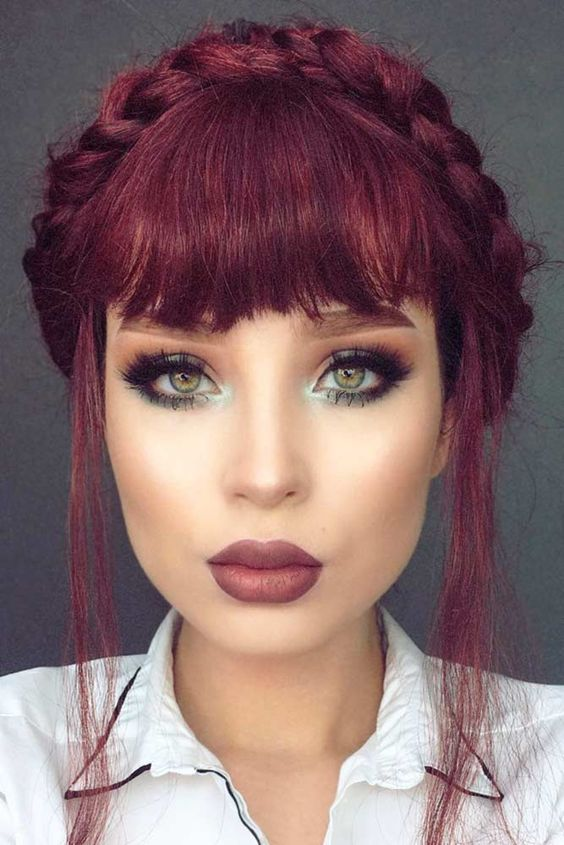30+ Stylish Hairstyles with Fringe