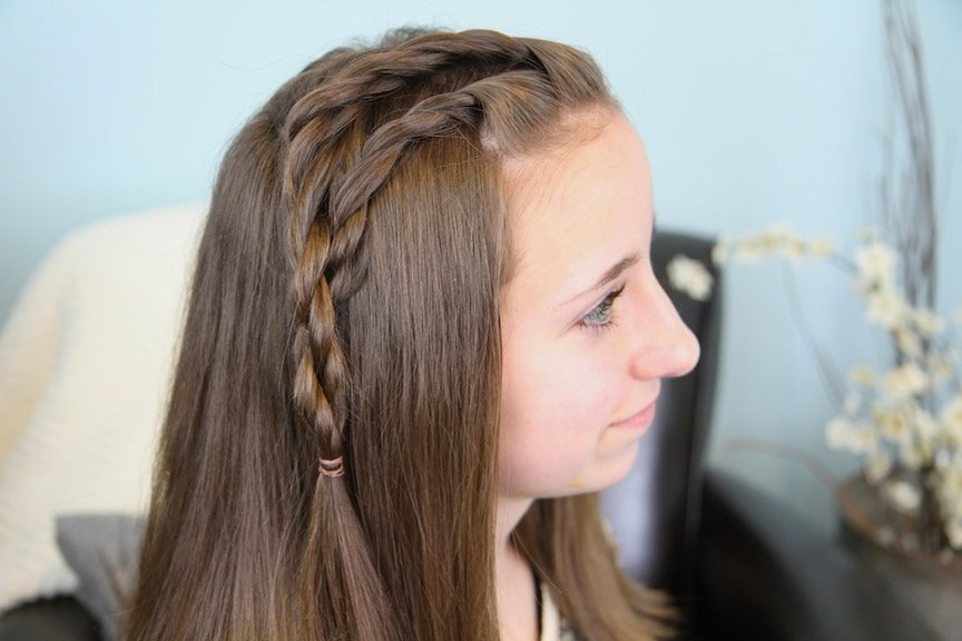 Girl Hairstyles Quick And Easy: 10 Quick And Easy Hairstyles For School Girls