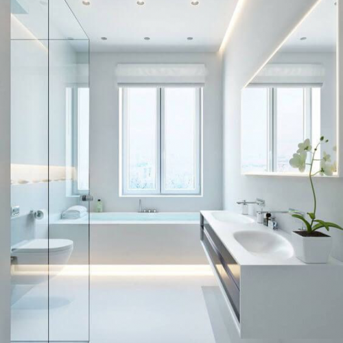 All White Bathrooms Ideas- How To Get The Look For Less