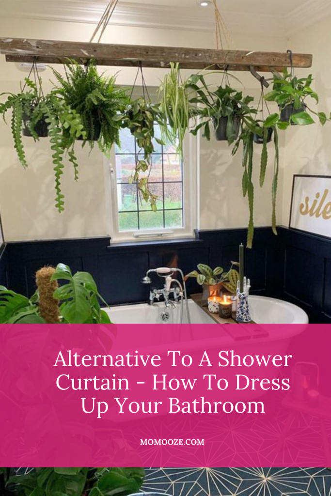Alternative To A Shower Curtain – How To Dress Up Your Bathroom