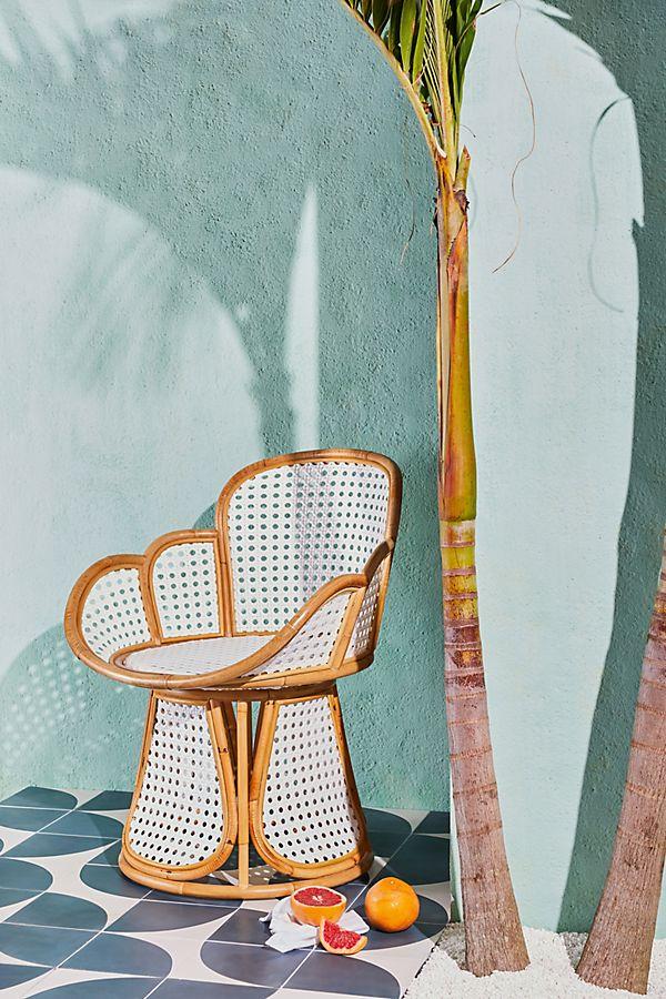 Anthropologie Julissa Rattan Chair