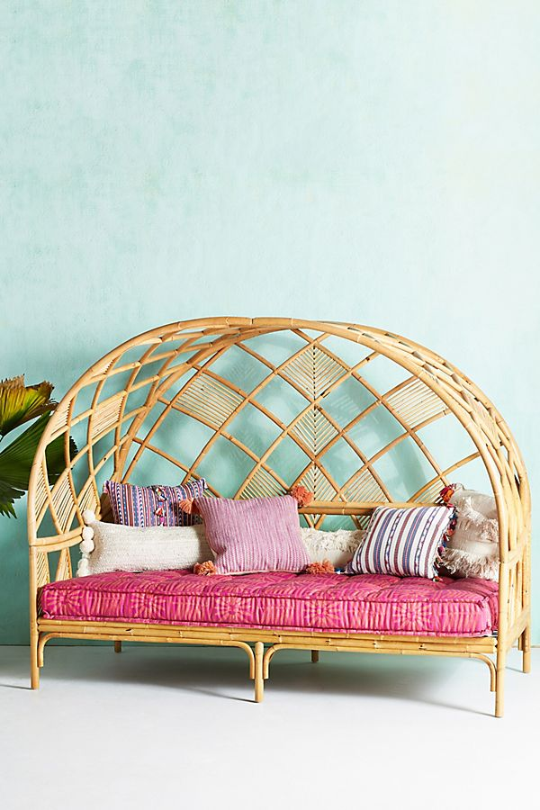Anthropologie Peacock Cabana Daybed