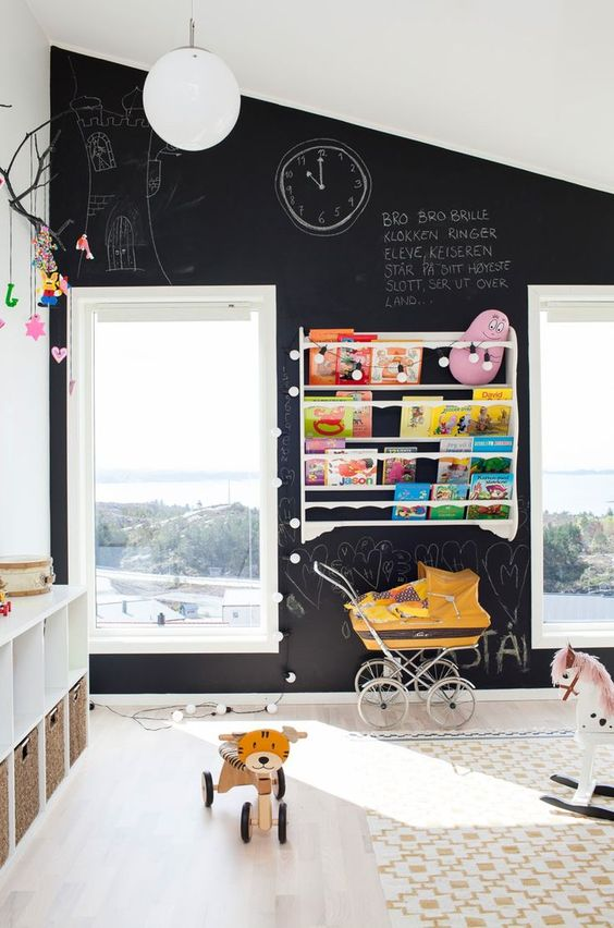 Black House Interiors We're Obsessed About