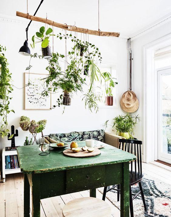 boho kitchen decor ideas for house or apartment