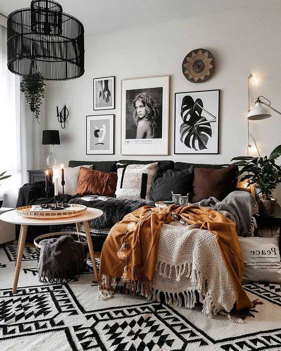25 Boho Living Room Decor Ideas On A
