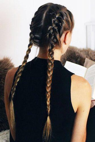 Long Hair with Braids