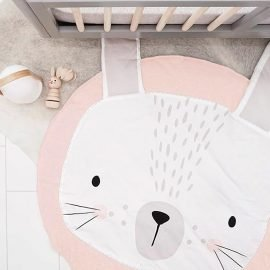 Cute Rabbit Crawling Mat