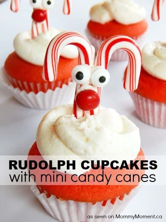 easy Christmas cupcakes ideas holidays simple easy for kids pull apart xmas