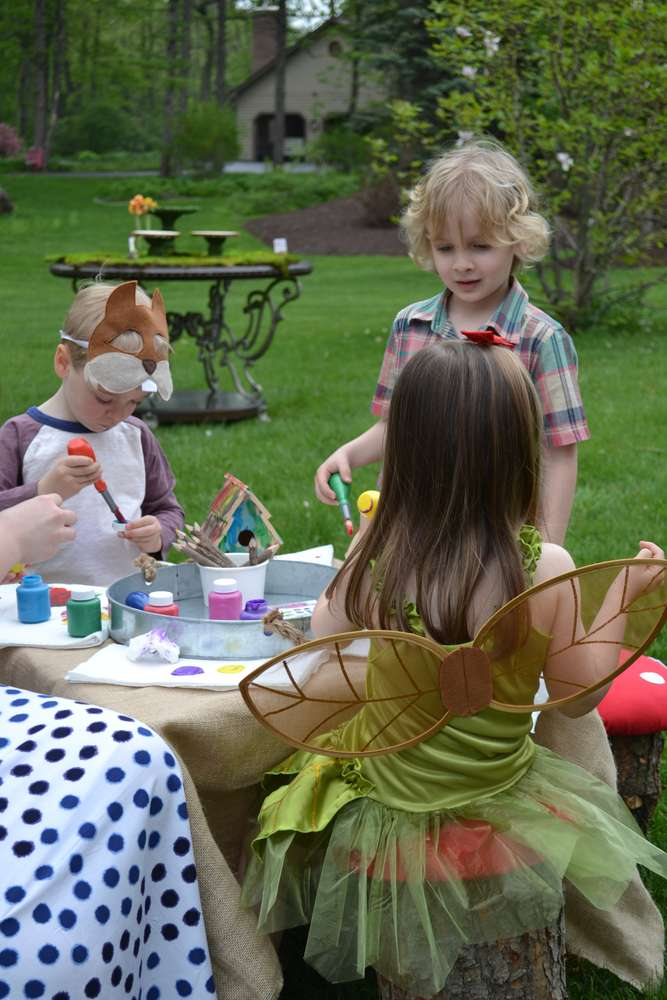 Enchanted Forest Party Theme Ideas for Kids Birthday crafts diy momooze.com online magazine for moms