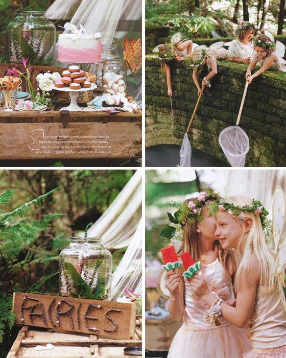 Enchanted Forest Party Theme Ideas for Kids Birthday fairies party momooze.com online magazine for moms