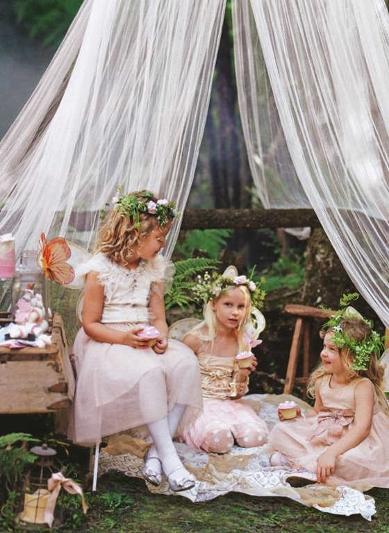 Enchanted Forest Party Theme Ideas for Kids Birthday fairies tea party momooze.com online magazine for moms