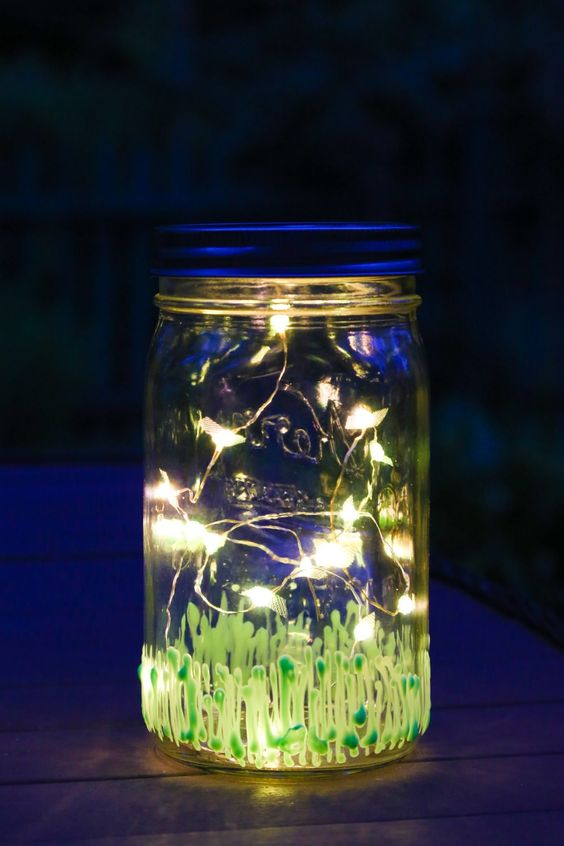 Enchanted Forest Party Theme Ideas for Kids Birthday firefly mason jar momooze.com online magazine for moms