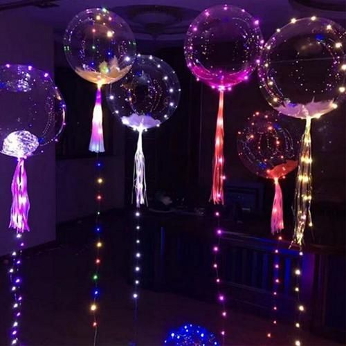 Enchanted Forest Party Theme Ideas for Kids Birthday luminous LED balloons momooze.com online magazine for moms
