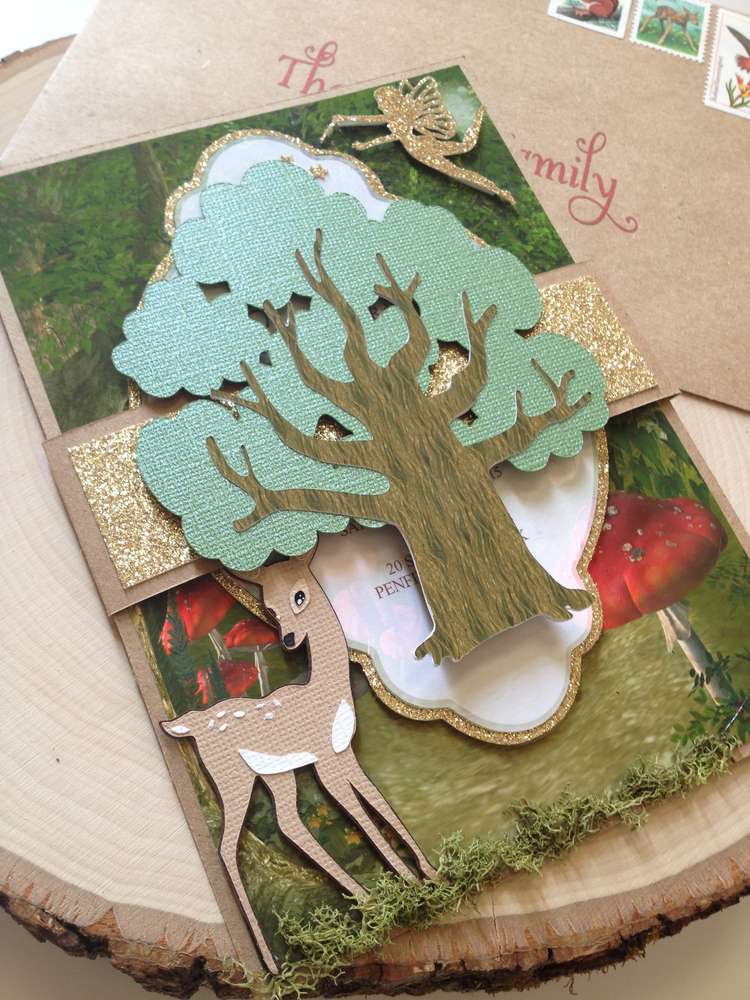Enchanted Forest Party Theme Ideas for Kids Birthday woodland invitation bday momooze.com online magazine for moms