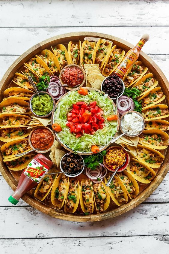 Food for New Years Party