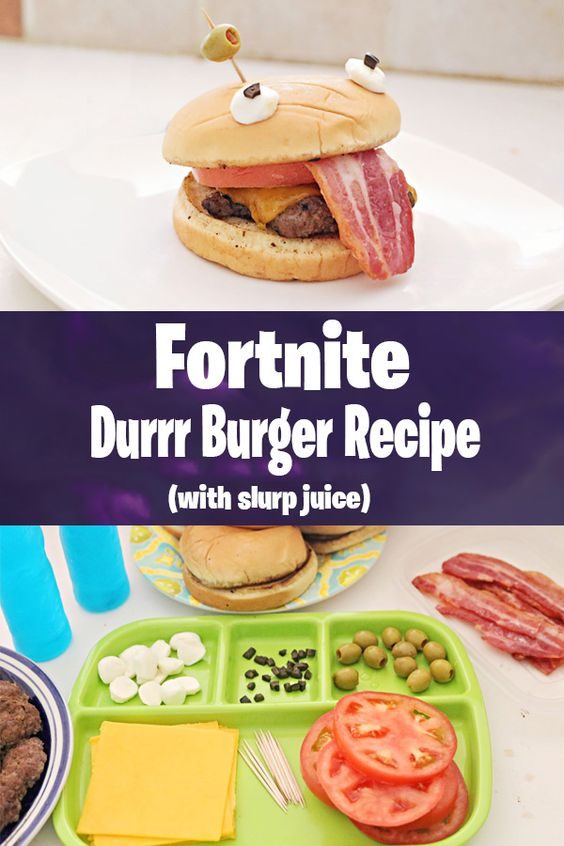 Fortnite-Birthday-Party-burger-recipe
