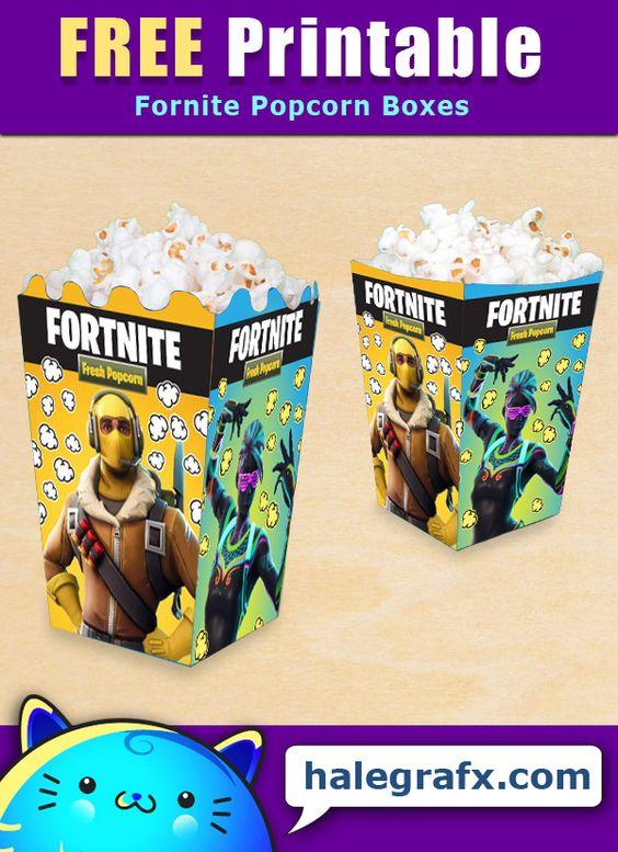 Fortnite-Birthday-Party-popcorn-box-printables