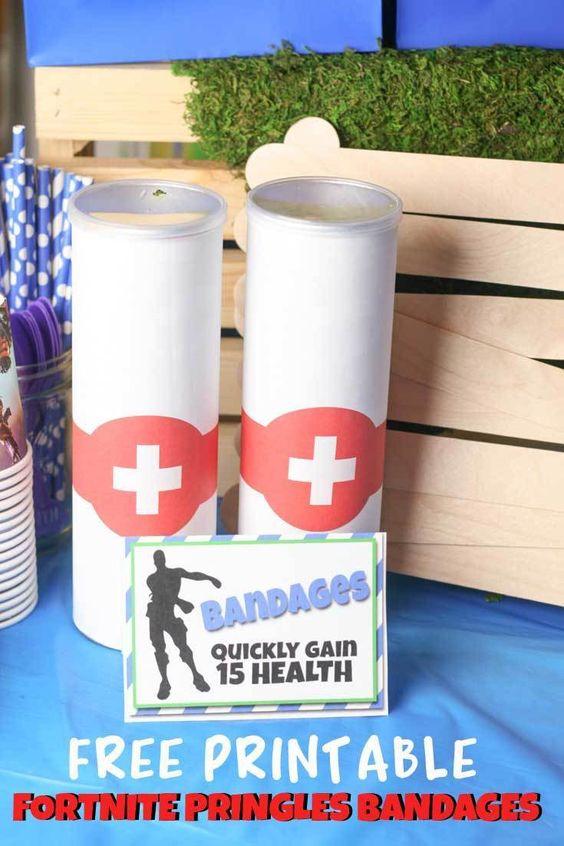 Fortnite-Birthday-Party-printable-bandages