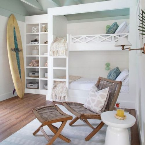 beach house insoired bedroom