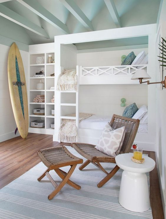 25+ Gorgeous Beach House Inspired Bedroom Ideas