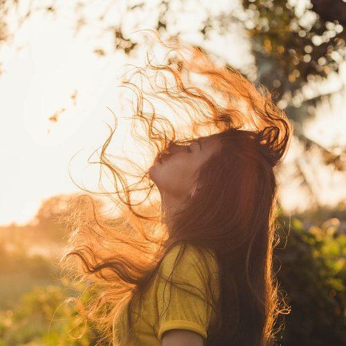 Healthy Looking Radiant Hair