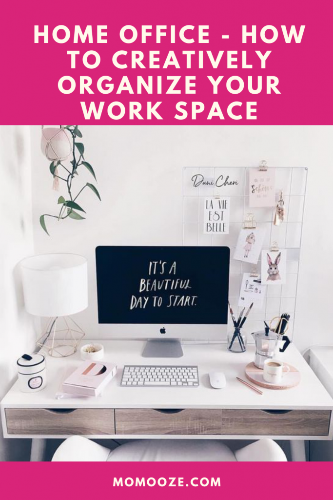 Home Office - How To Creatively Organize Your Work Space