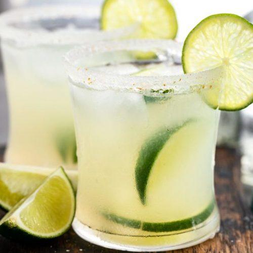Homemade Margarita Cocktail Mix