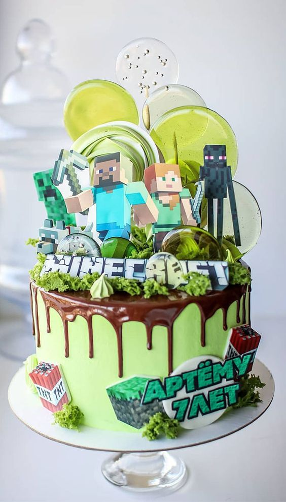 How To Make Cool Minecraft Cakes At Home