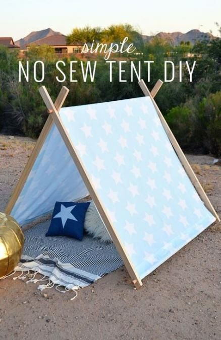 DIY kids teepee ideas