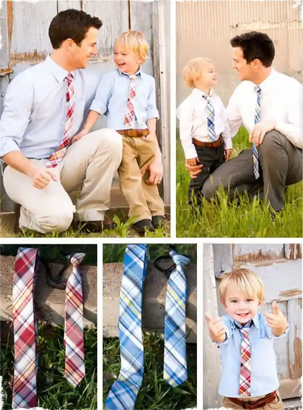 Matching Outfits For Dad and Son