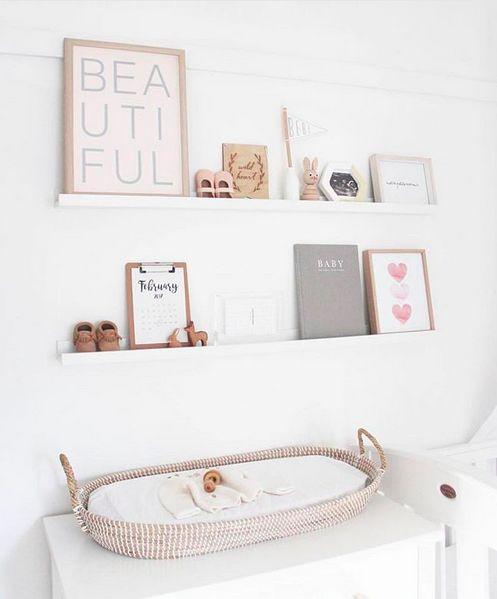 35 Nursery Shelf Decor Ideas Styling