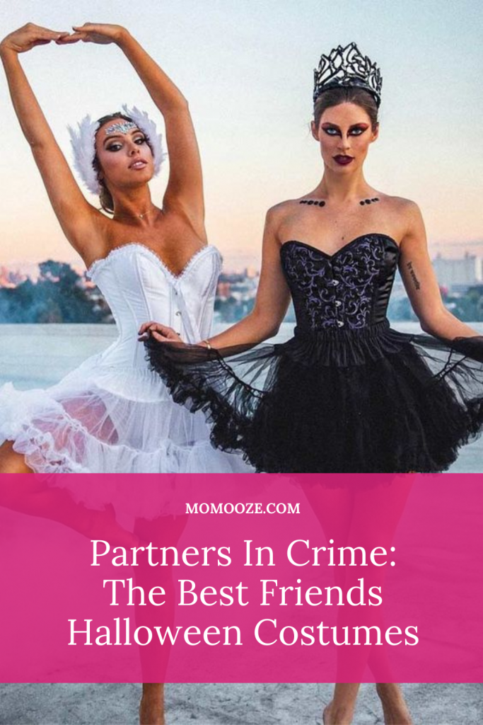 Partners In Crime: The Best Friends Halloween Costumes