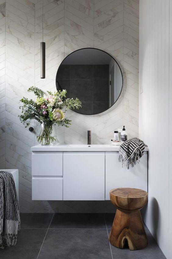 Scandinavian bathroom - elegant scandinavian bathroom idea