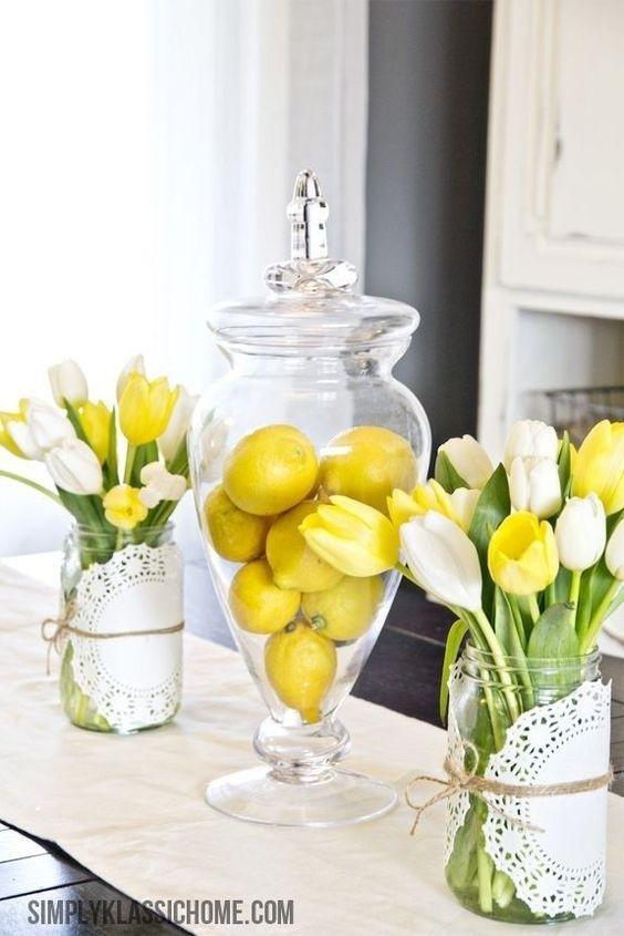 Super Creative Ideas For Kitchen Decor With Lemons