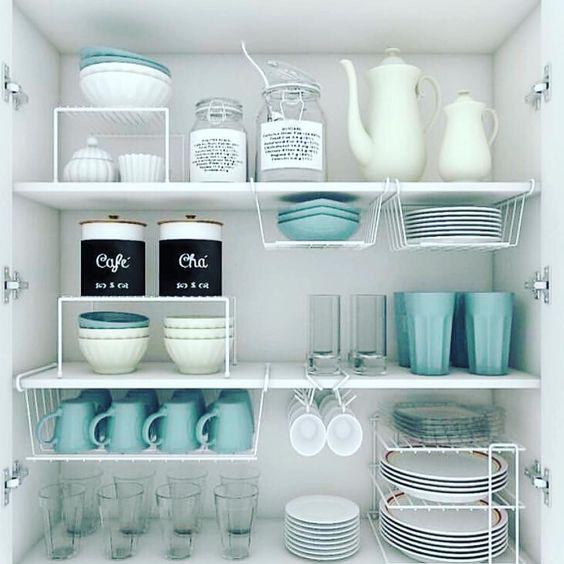 The 20 Best Kitchen Cabinets Organization Ideas