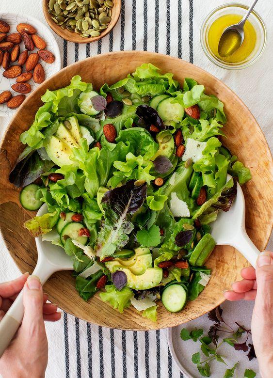 recepti za salatu za proljetni mix