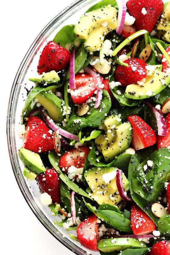 recepti za salatu za proljetni miks