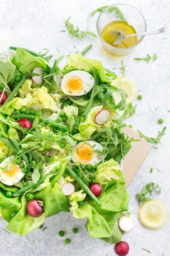 spring mix salad recipes