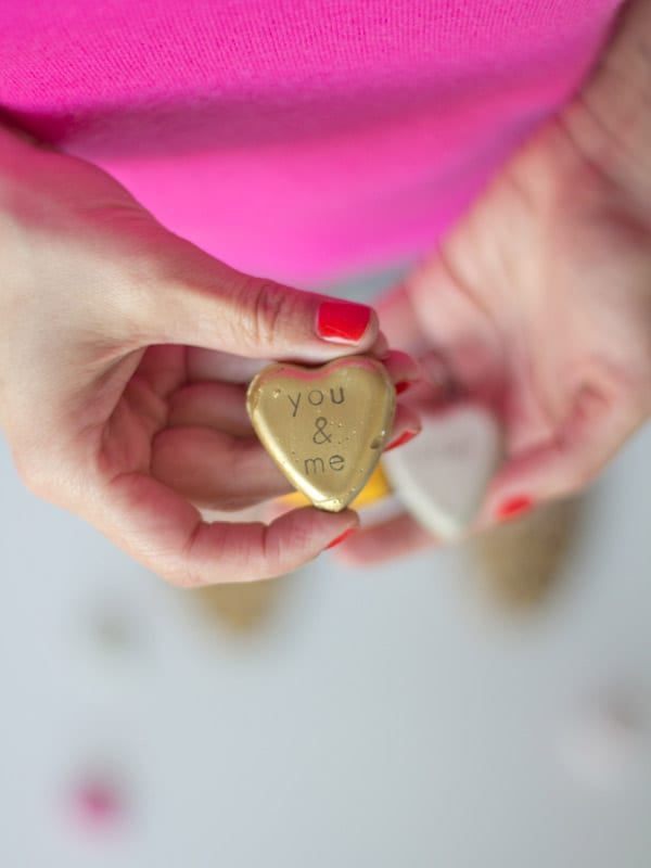Top Valentine's Day DIY Ideas you and me diy cement valentines momooze.com online magazine for moms