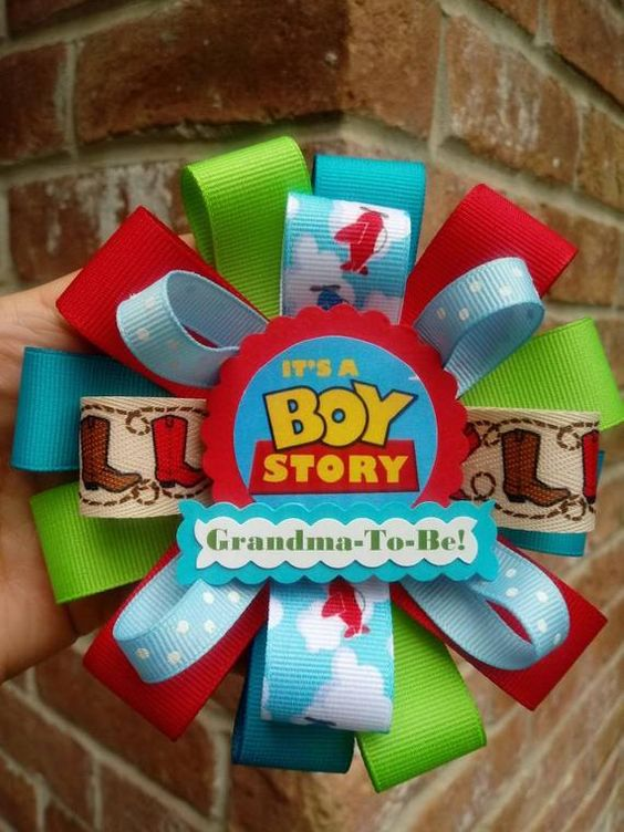 grandma ribbon for baby shower toy story party