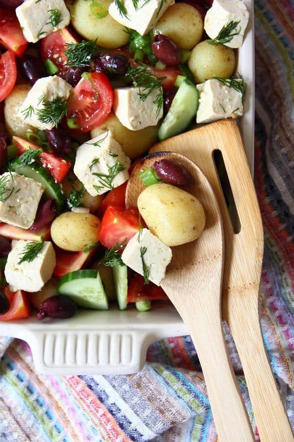Vegan potato recipes