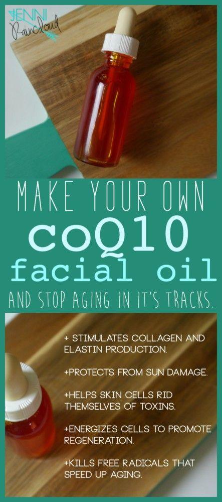 anti ageing facial oil