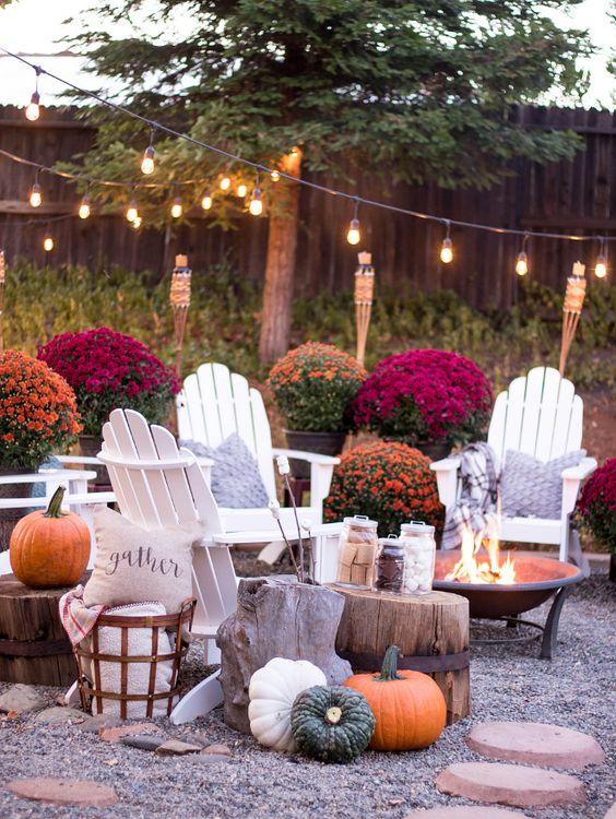gorgeous fall decor