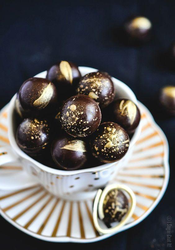 baileys salted caramel truffles