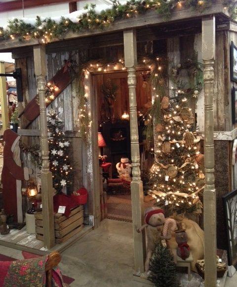 best christmas porch decoration ideas christmas cabin decoration momooze.com online magazine for modern moms